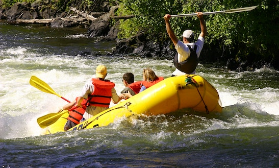 Whitewater Rafting In Bend