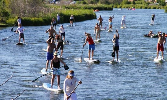 Guided Paddleboard Tour In Bend