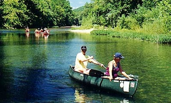 Canoe Trips & Rental In Spring Valley Township, Missouri