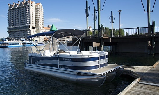 12- Person Pontoon Rental In Coeur D'alene
