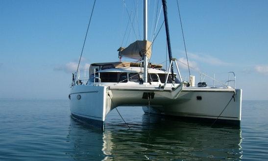 Fountaine Pajot Lavezzi 40 Cruising Catamaran Charter In Paros
