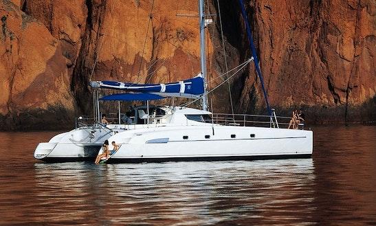 Fountaine Pajot - Bahia 46 Cruising Catamaran Charter In Paros