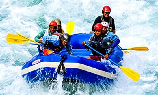 Adrenaline Pumping Rafting Adventure For 8 People In Kathmandu, Nepal