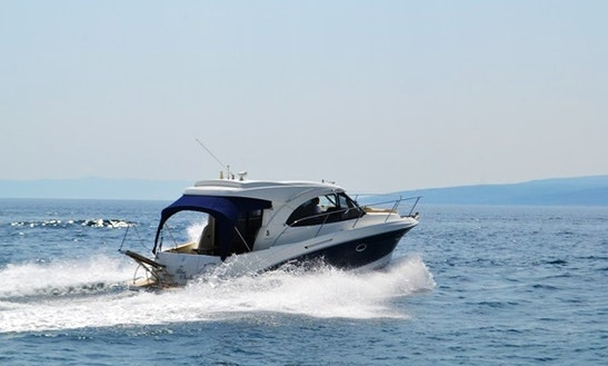 34' Beneteau Power Boat Rental In Krvavica