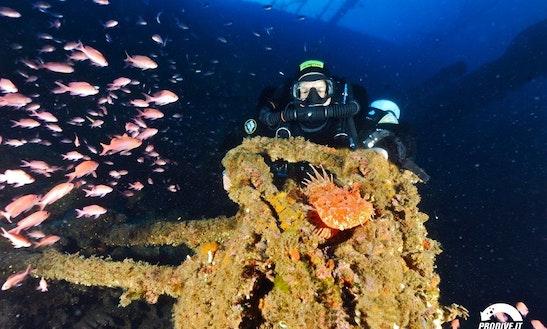 Diving Trips In Villasimius