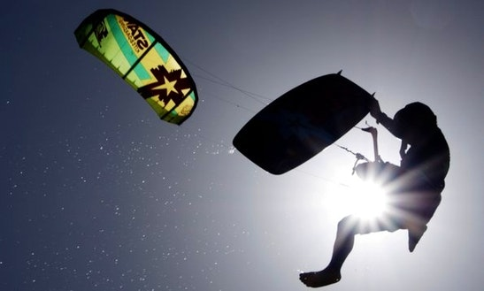Kiteboarding In Puerto Plata, Dominican Republic