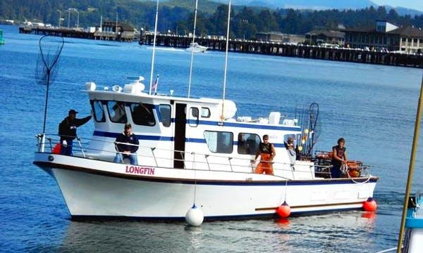 "43' Fishing Trip Boat ""Longfin"" in Newport"