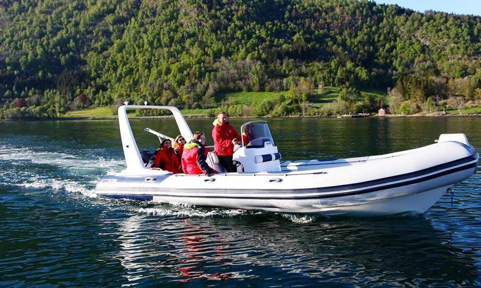 RIB fishing trips in Sogn og Fjordane, Norway