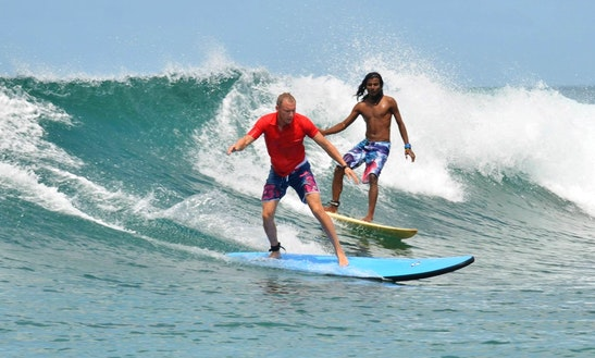 Surfing Trips In Halaveli, Maldives
