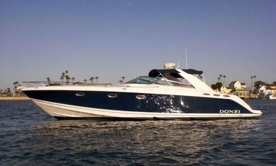 Charter 40' Donzi 39zsc Express Cruiser In Newport Beach, California
