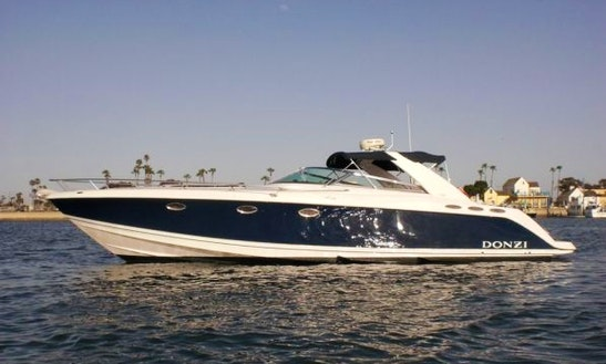 Charter 40' Donzi 39zsc Express Cruiser In Newport Beach, California