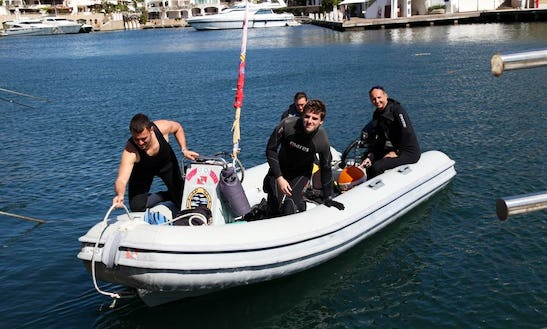 'bolla' Dive Boat Trips And Courses In Arzachena