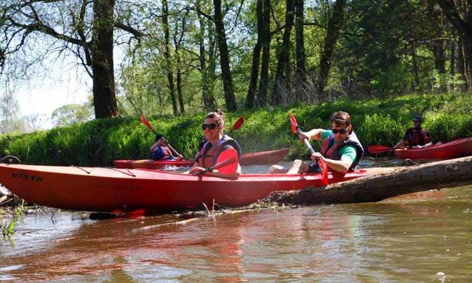 Exciting Double Kayak Tours in Wrocław, Poland