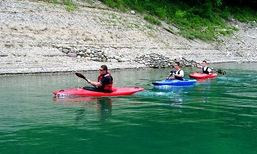 The Magic Canyon Del Rio Novella Kayak Excursion from Mezzana, Italy