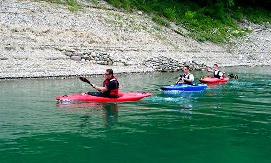 Single Kayak Trips And School In Mezzana