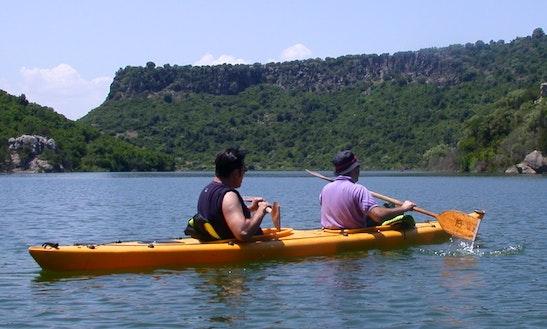 Double Kayak Trips And School In Mezzana