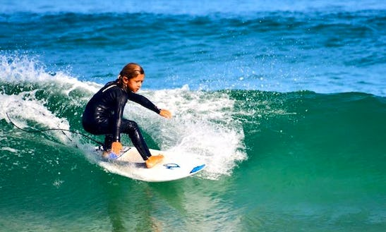 Surf Lessons In Rome, Italy