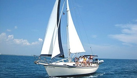 Charter The Island Packet 35