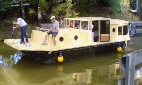 Houseboat Ada Rental For Up To 6 People In Slatiňany