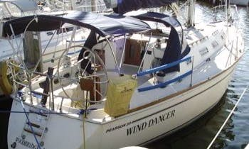 """39ft """"Wind Dancer"""" Pearson Sailing Yacht Charter In Rock Hall, Maryland"""