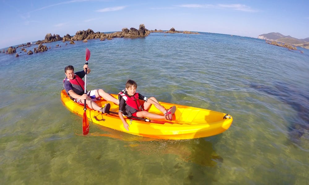 Double Kayak Courses in Noja, Spain