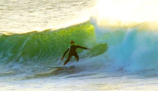 Surfing Lessons In El Cotillo, Spain