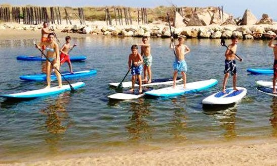 Sup Lesson And Excursion In El Cotillo, Spain