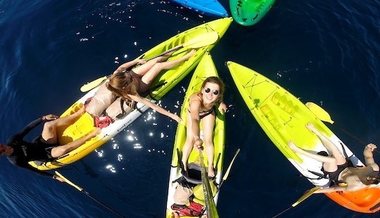 Guided Kayak Tours With An Experienced Guides And Tandem Kayak Rental In Dubrovnik