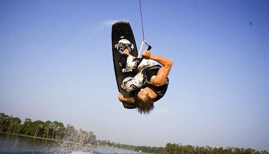 Wakeboarding In Kerkira