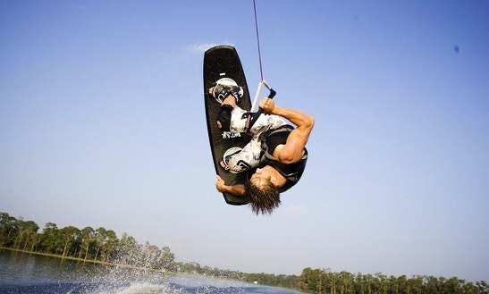 Wakeboarding In Kerkira