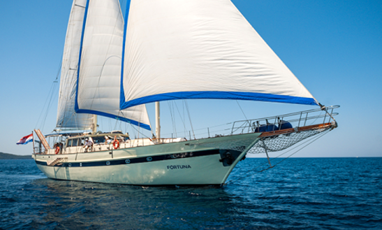 Luxury Fortuna Sailing Yacht Charter In Zagreb