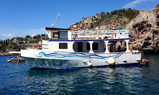 'tornado' Diving Trips And Courses In Giardini Naxos