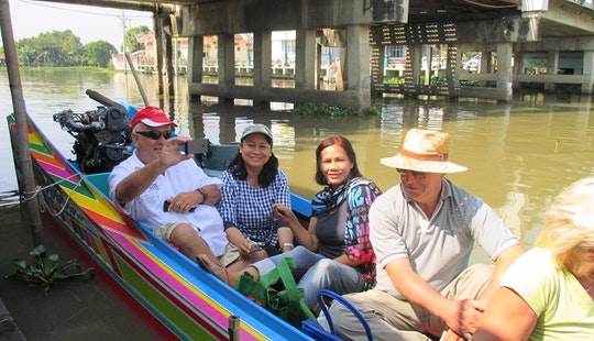 Sightseeing Long-tail Boat Tour Including Minibus Drive From Pattaya, Thailand