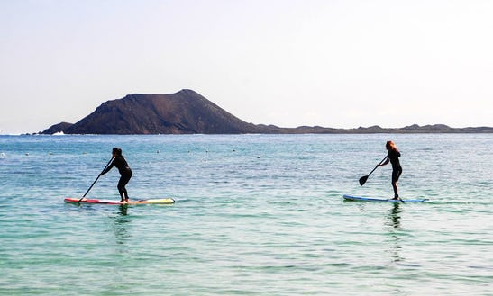 Stand Up Paddle Lessons In Corralejo, Spain