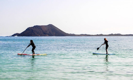 Stand Up Paddle Lessons In Corralejo