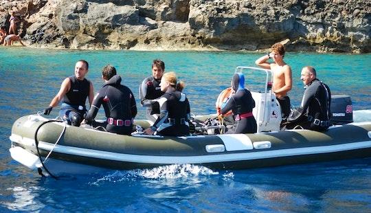 Scuba Diving Trip In Ustica, Sicily