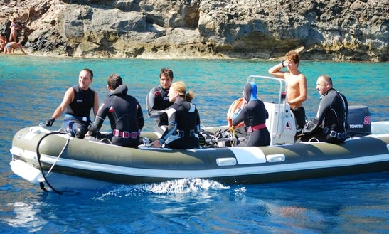 Scuba Diving Trip In Ustica