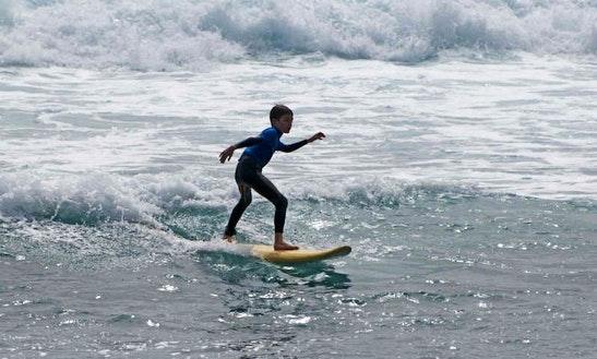 Surf Lessons In Puerto De La Cruz