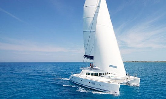 Lagoon 500 Cruising Catamaran Charter In Paros