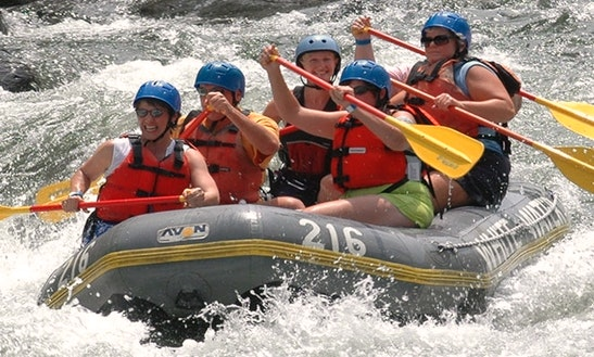 Daily Rafting Trips In Rize