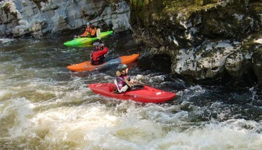Single Kayak Trips In Gemeinde Haiming, Austria