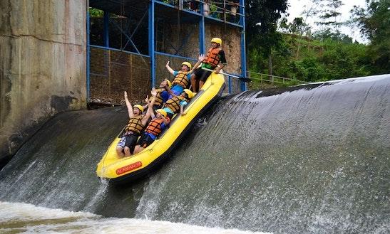 River Rafting In Caringin