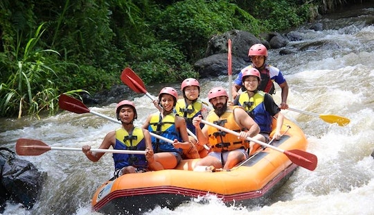 Unforgettable White Water Rafting Experience In Bali Region, Indonesia