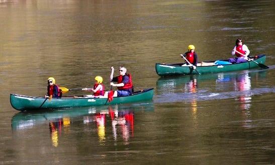 Triple Canoeing Trips In Symonds Yat, Uk