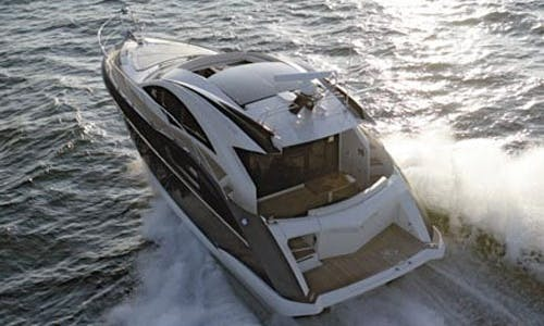 Captained Charter 43' Marquis Motor Yacht with Jet Ski in Miami
