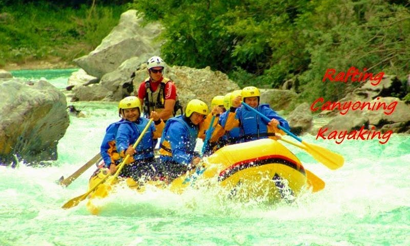 Rafting Trips and Outdoor Adventures in Zaga, Slovenia