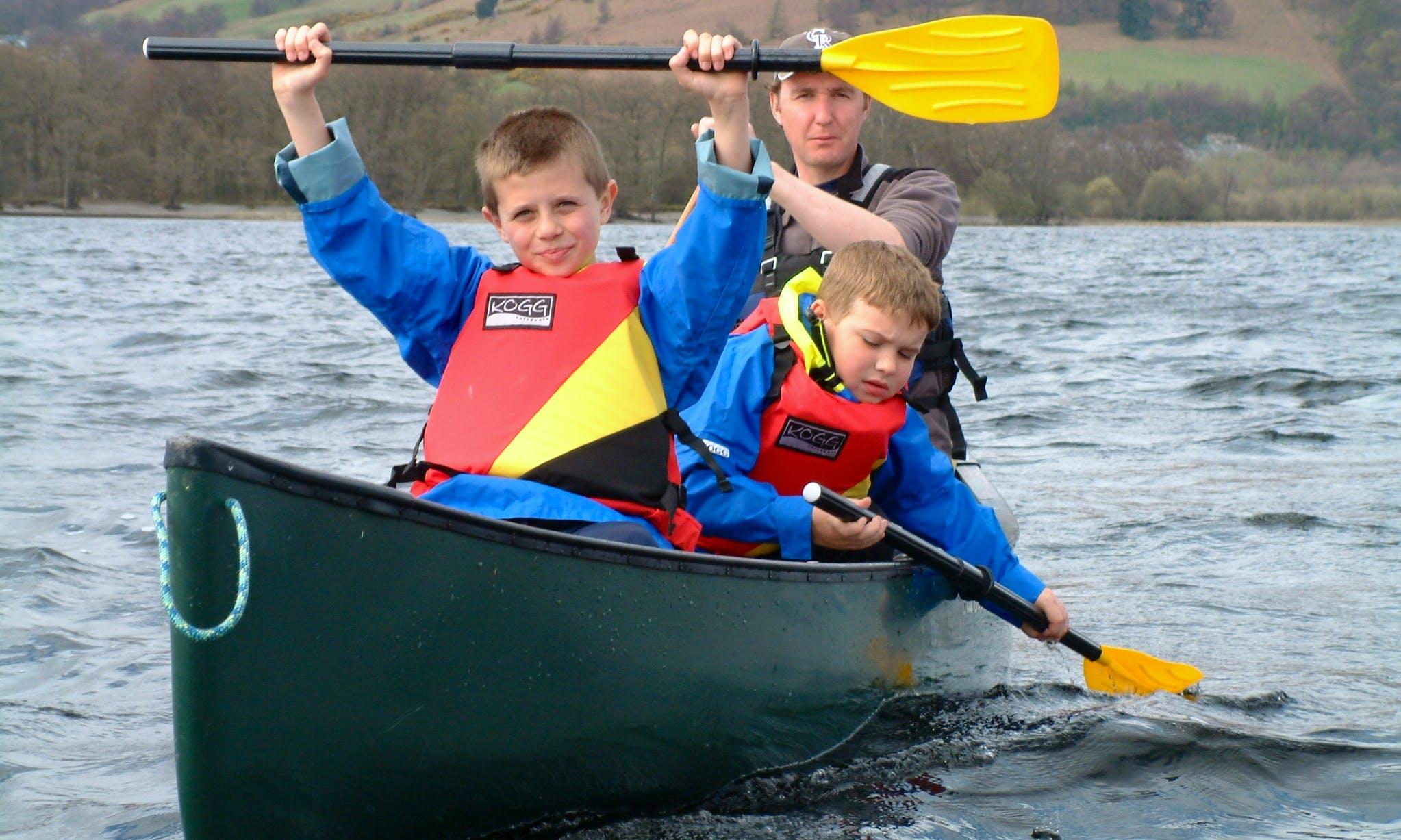 Rent a 4 Seater Canoe in Rust, Austria