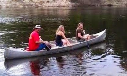 Explore Rust, Austria on a 3 seater Canoe