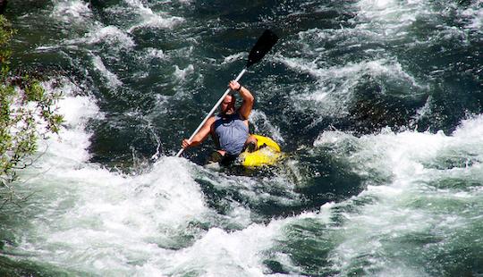 Scenic Trinity River Kayak Trip | Single Kayak Rental In Lewiston, California