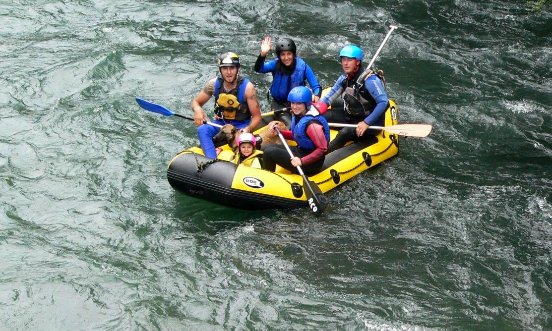 White Water Rafting in Gemeinde Obervellach